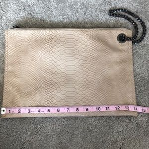 Anthropologie Deux Lux Giant Wristlet/Clutch